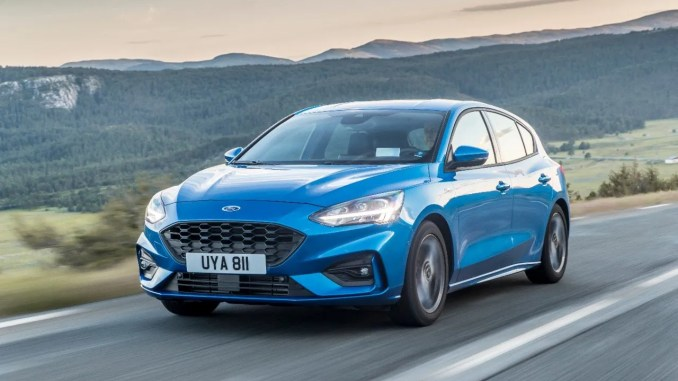 Sales of the Ford Focus are at just over 50% petrol