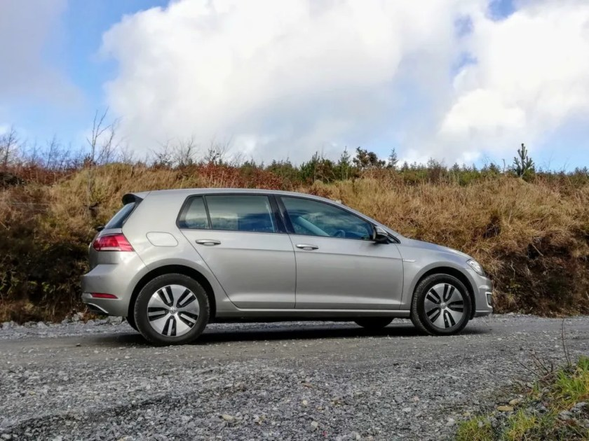 The Volkswagen e-Golf is available from €35,995 in Ireland