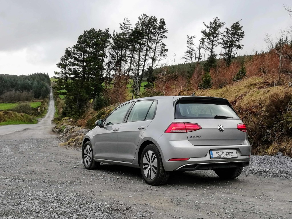 The Volkswagen e-Golf received an upgrade in 2017