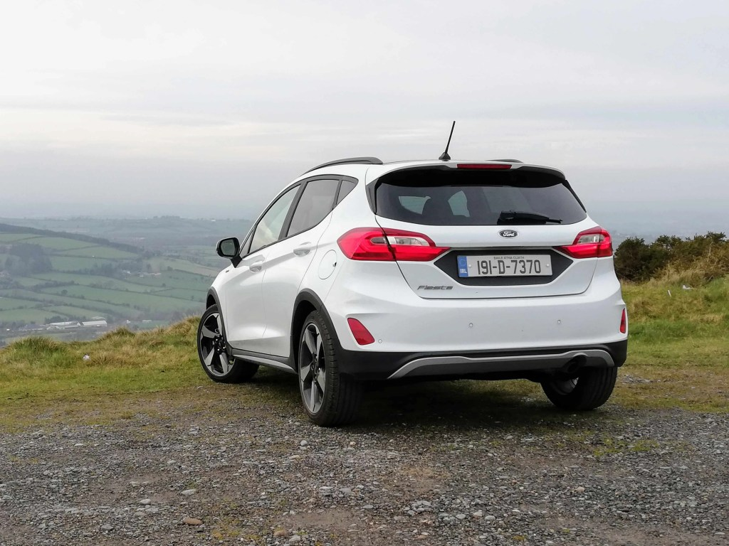 The Ford Fiesta Active comes with Ford's excellent 1.0-litre EcoBoost engine
