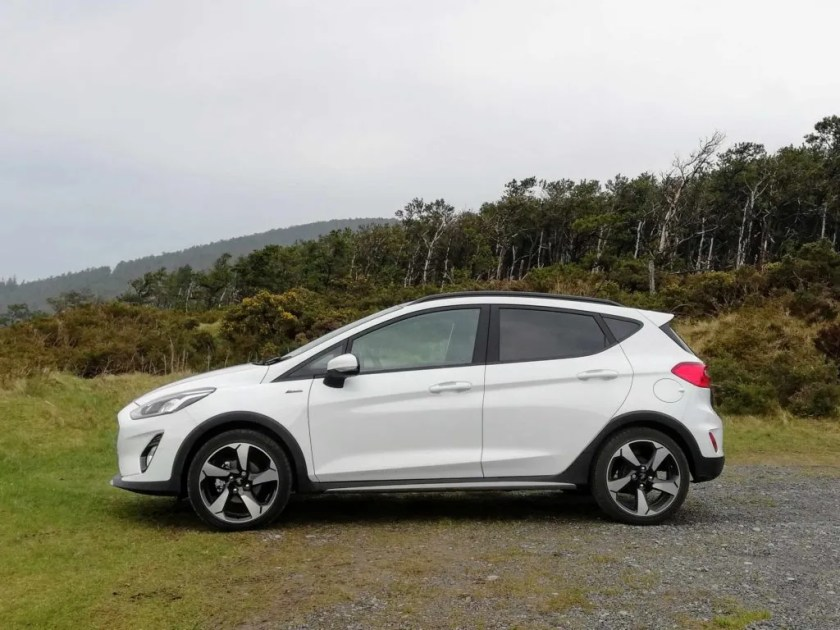 The Ford Fiesta Active is on sale priced from €18,885