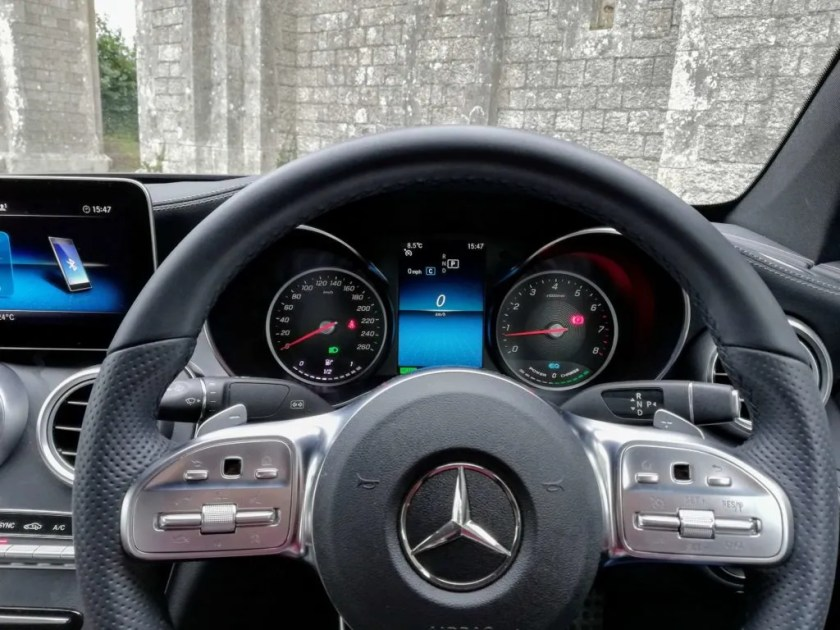 There's a new steering wheel and option of a digital instrument panel