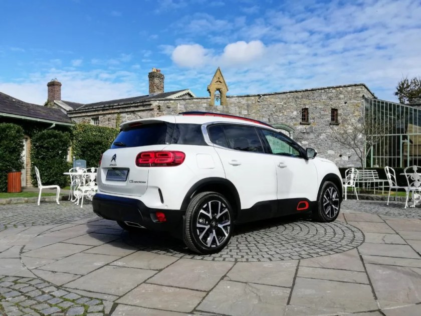The Citroën C5 Aircross goes on sale priced from €26,495