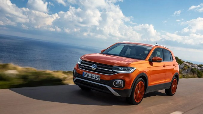 The Volkswagen T-Cross is a new compact SUV from Volkswagen