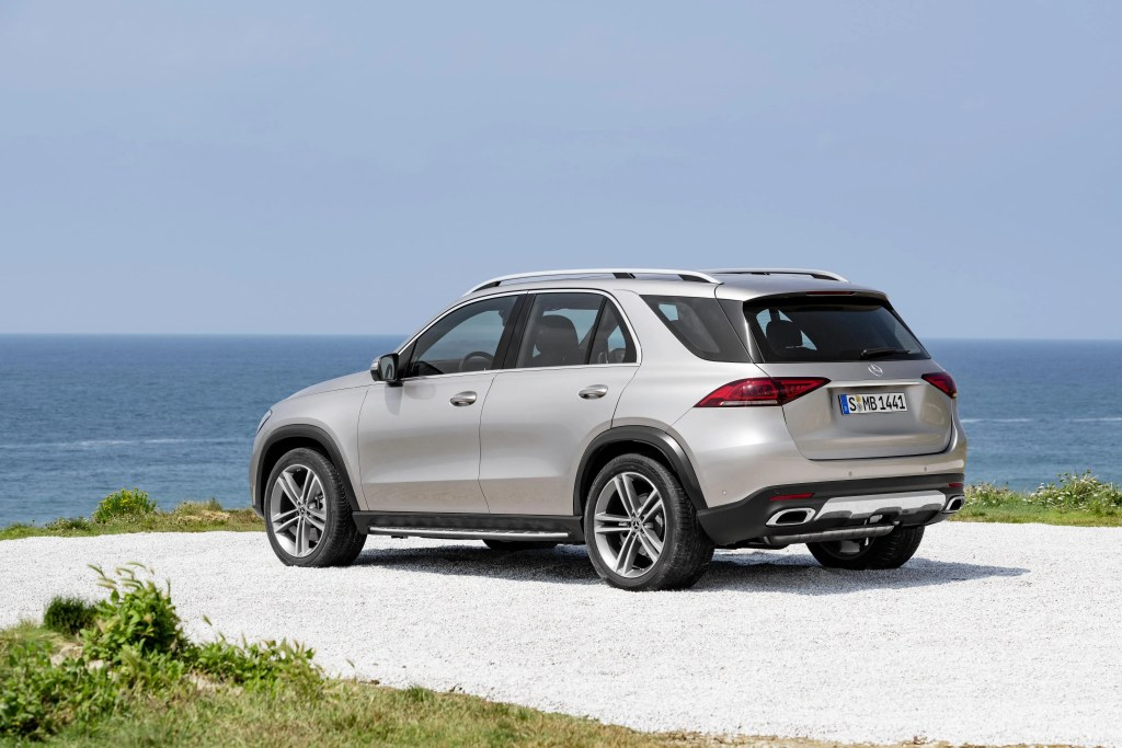 The new Mercedes-Benz GLE range starts from €78,395