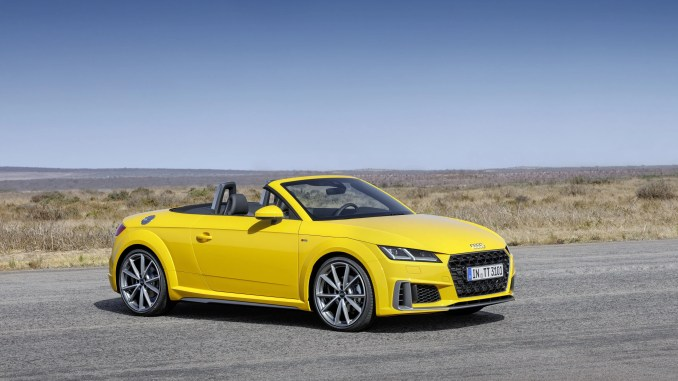 The updated Audi TT range is now available in Ireland