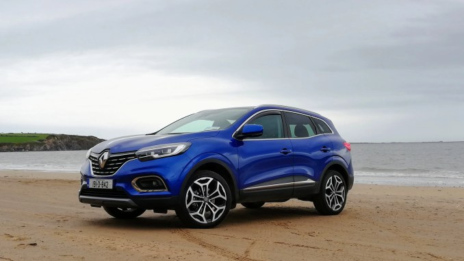 The 2019 Renault Kadjar in Iron Blue