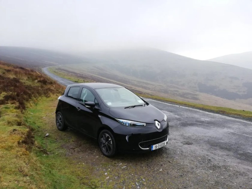 The ZOE is a stylish and surprisingly desirable small electric vehicle!