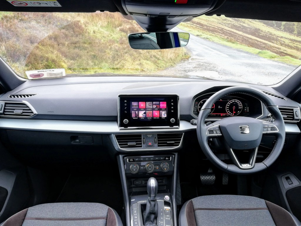 The interior of the SEAT Tarraco
