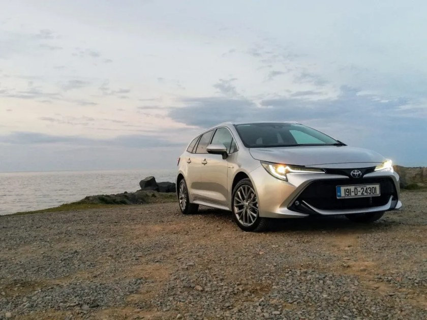 The Toyota Corolla Touring Sports is a stylish and practical estate car
