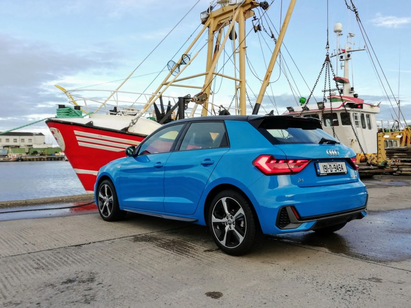 The Audi A1 range starts from €24,650 in Ireland
