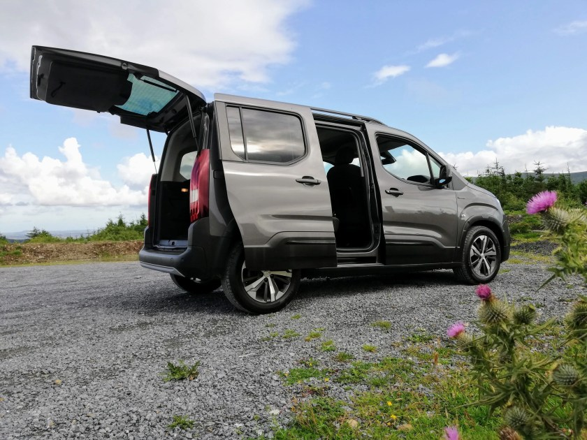 The Peugeot Rifter is exceptionally spacious and practical