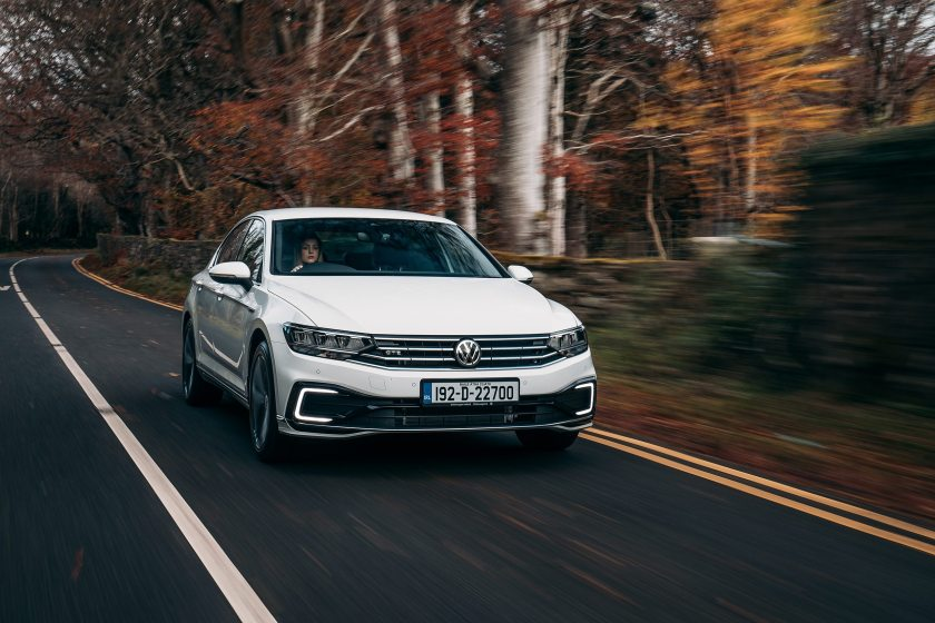 The new Volkswagen Passat GTE!