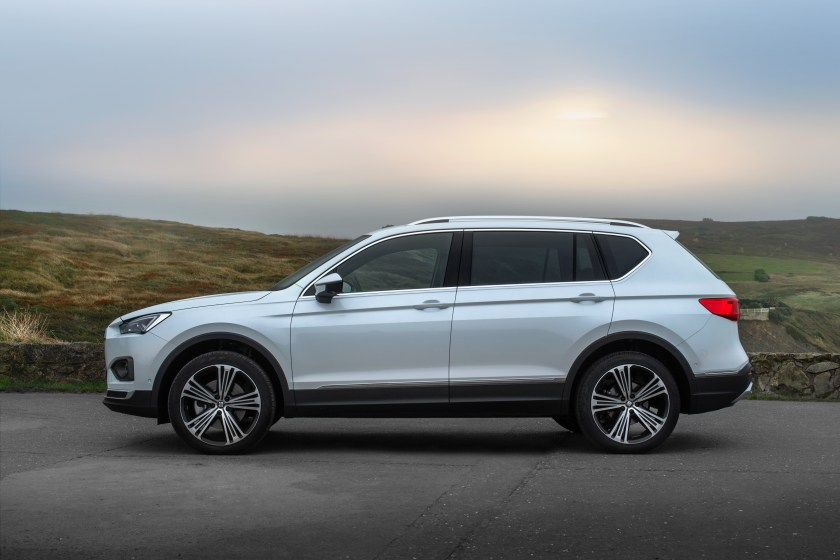 The SEAT Tarraco is an SUV that will seat seven people