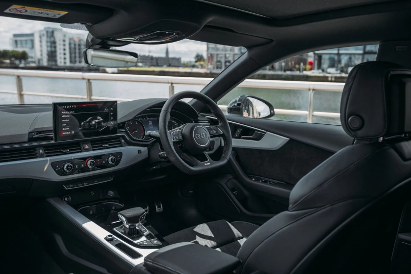 The interior of the new Audi A5 Sportback