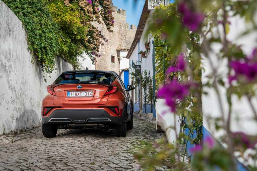 The 2020 Toyota C-HR is available from €30,370