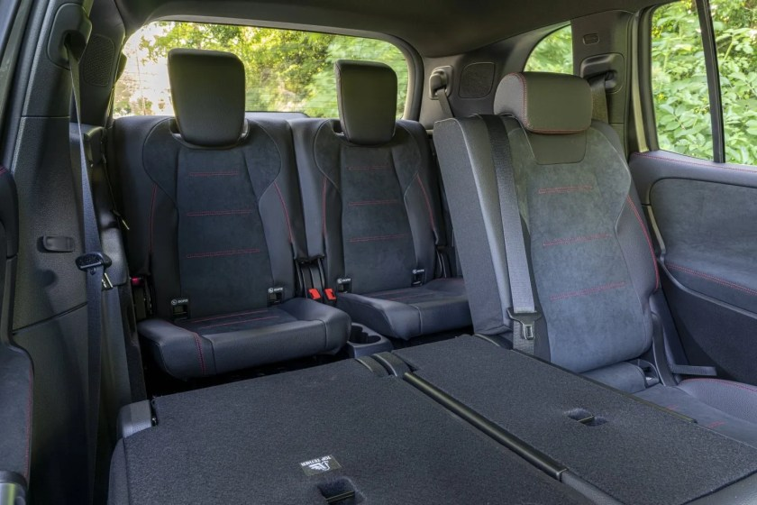 The Mercedes-Benz GLB has the option of two extra seats