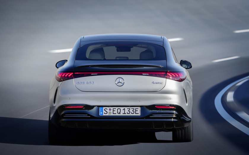 Astounding range up to 770 km for the new Mercedes-Benz EQS