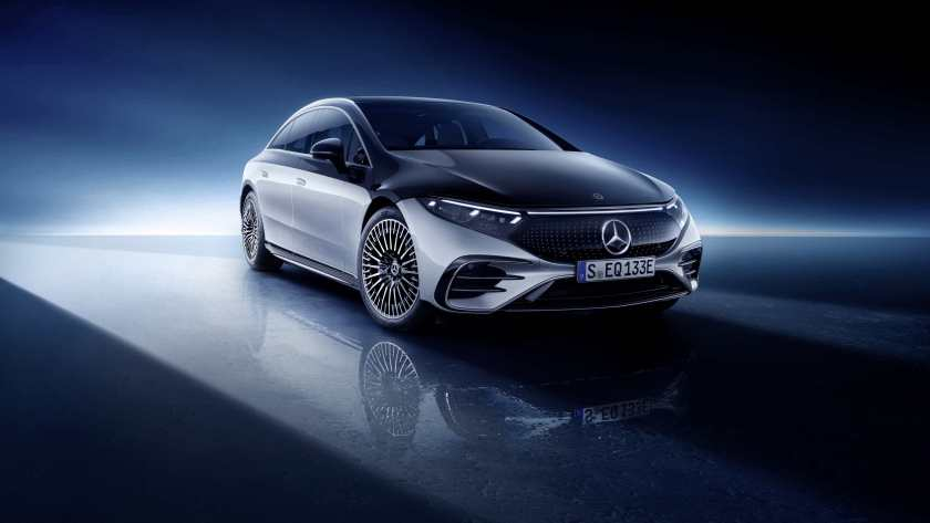 The new Mercedes-Benz EQS!