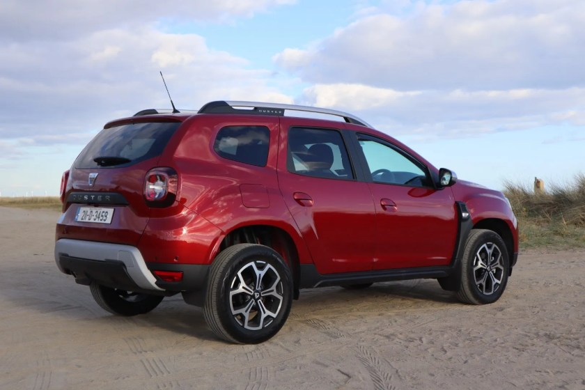 The Duster is available with petrol or diesel engines