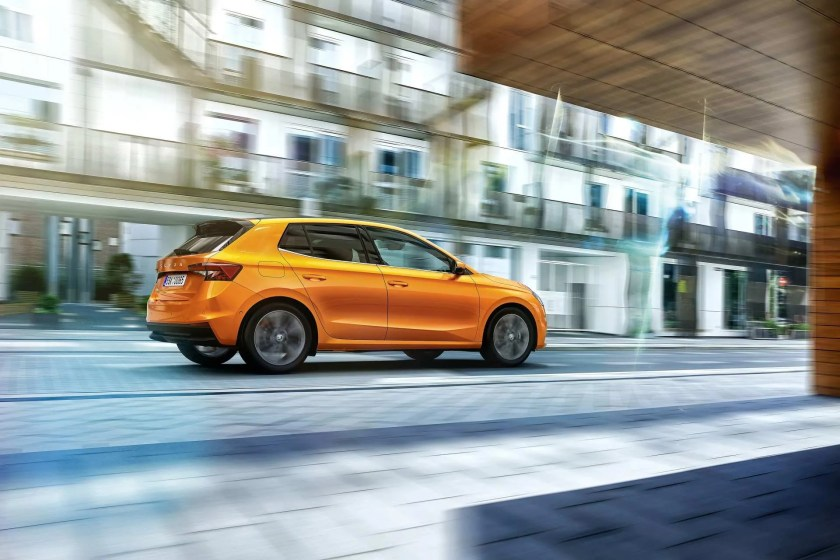 The Fabia sits on an all-new platform with improved safety and driver assistance features