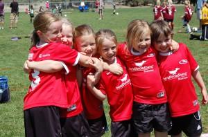 Maggies Soccer Team