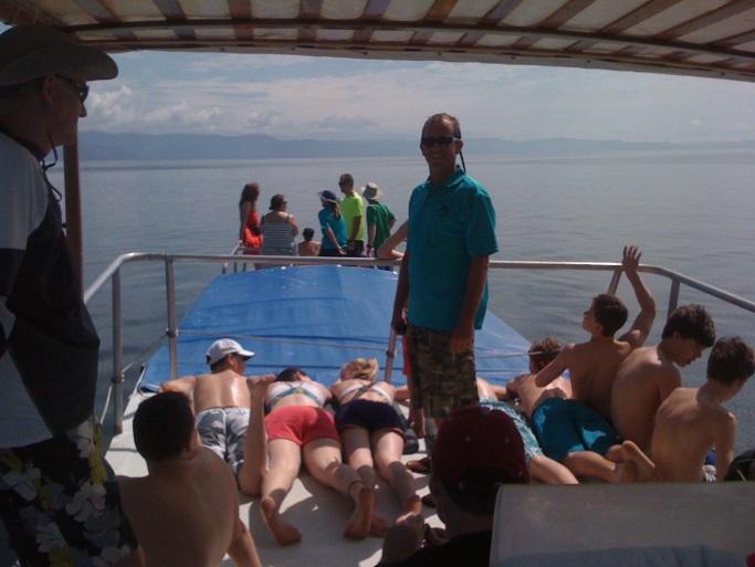 Student Boat Trip in Costa Rica