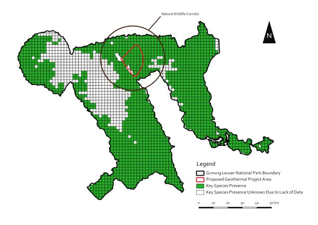 leuser-species-map