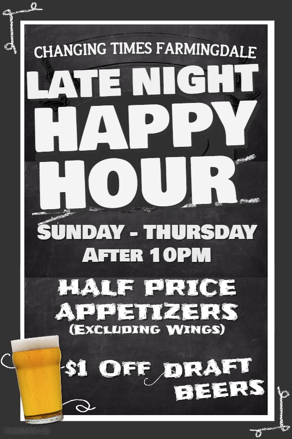 Late Night Happy Hour