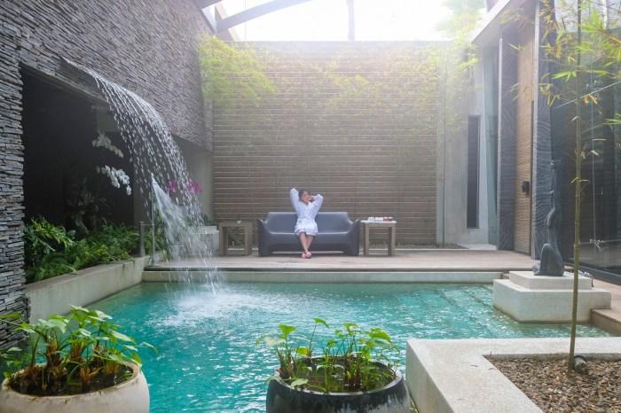 內建泳池的房間》御宿民族館VIP房