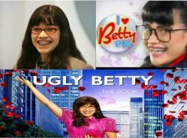diverse images d'une magnifique jeune fille avec des lunettes, une coupe atroce et un appareil dentaire digne de nos pires cauchemars d'adolescentes