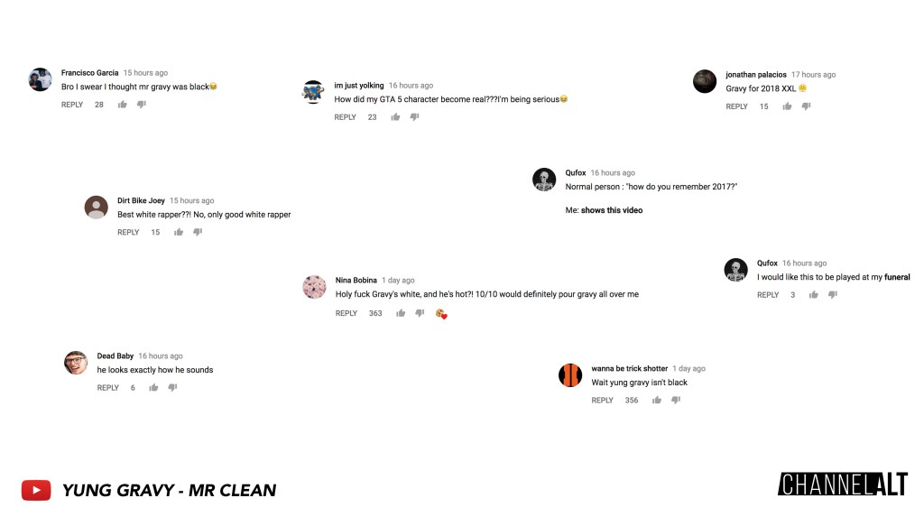 Yung Gravy - Mr Clean Comments