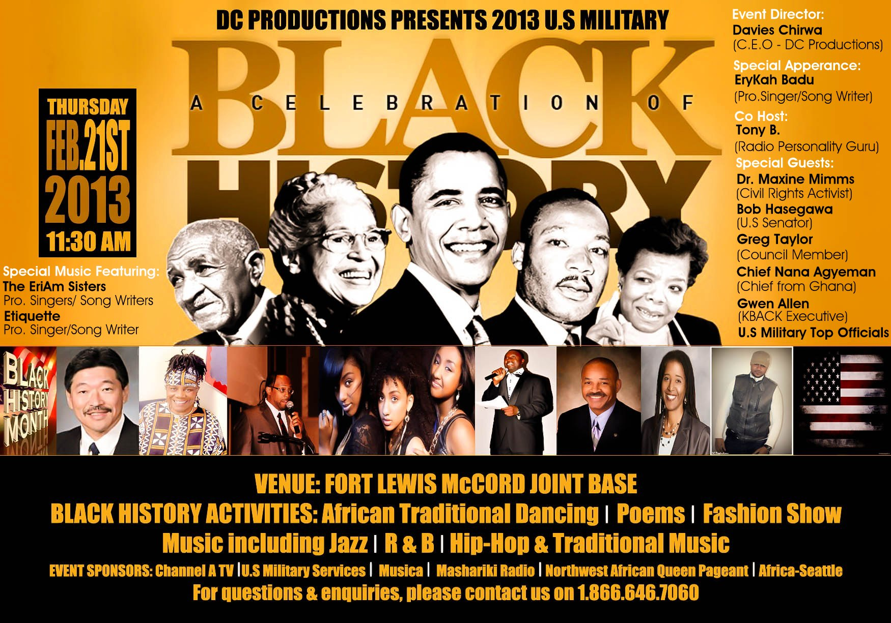 Black History Celebration With U S Troops