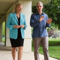 IBM CEO Virginia Rometty and Apple CEO Tim Cook strike an alliance to bring iPads and iPhones into the enterprise.