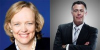 HP's Meg Whitman and Dion Wiesler