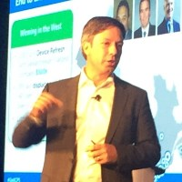 Dell Canada president Kevin Peesker at the company's Canadian Partner Summit.