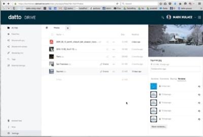 Datto Drive Screenshot 3
