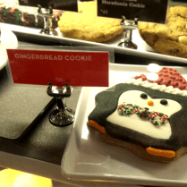 Look at this cute little penguin cookie!
