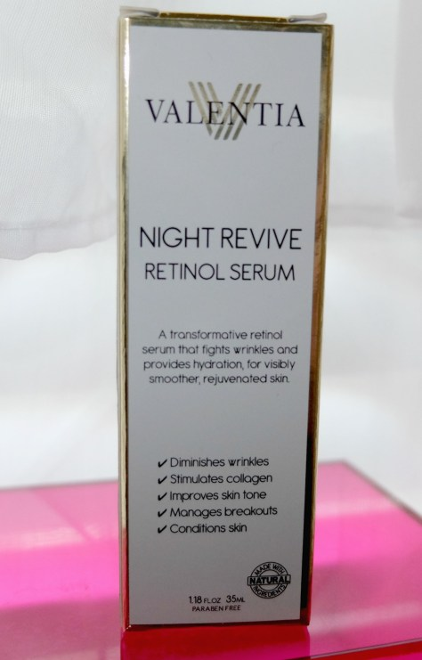Valentia Night Revivre Retinol Serum