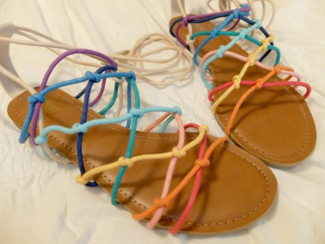 T-Shirts and Sandals and Espadrille's...Oh My! Target