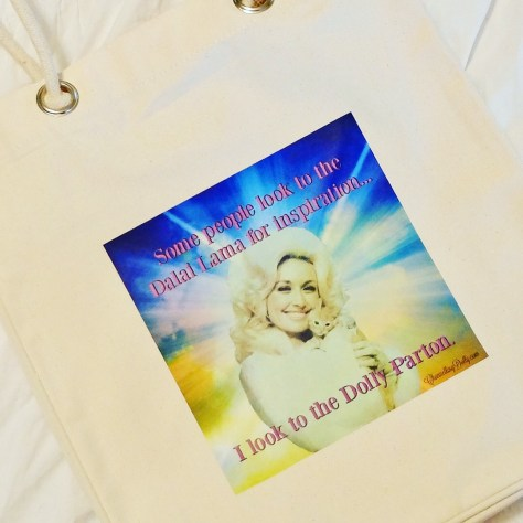 New Week and Some News! Dolly Parton Totes
