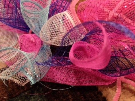 Day of the Dead Mesh Wreath DIY From Dollar Tree Finds