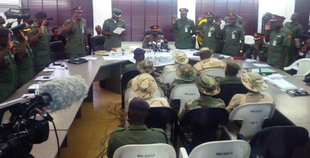Court martial - Nigeria Army to court martial 70 soldiers in northeast