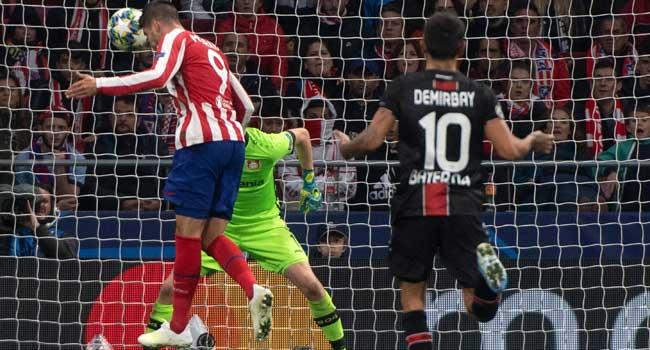 Alvaro Morata - Morata goal helps Atletico Madrid to beat Bayer Leverkusen