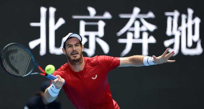 Andy Murray 1 1 - Murray wins battle of Britons to set up Thiem clash in Beijing