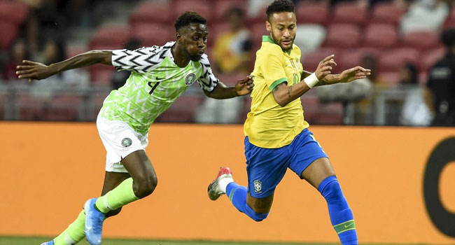 Brazil Nigeria - Super Eagles showed they can face world's best with Brazil draw, football enthusiasts say