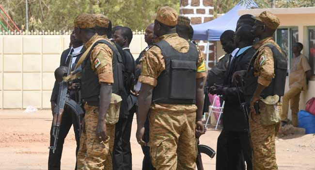 Burkina Faso Troops - Burkina Faso in national mourning after attack on gold mine workers