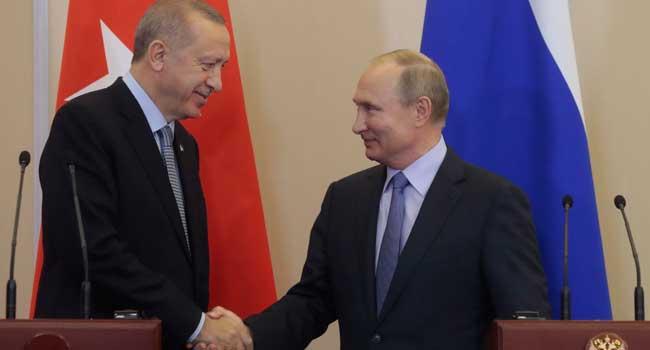 Putin Erdogan - Putin-Erdogan Syria deal makes Russia central peace-broker in region – Kurdish Official