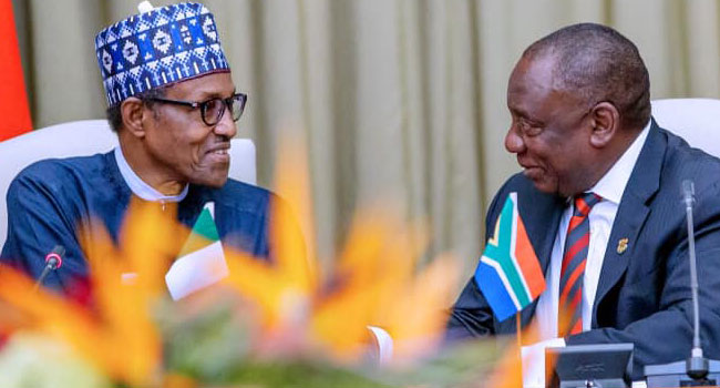 South Africa Buhari 2 - South Africa: Xenophobic attacks on foreigners an embarrassment to Africa — Buhari