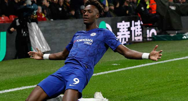 Tammy Abraham1 - Abraham guides Chelsea to 2-1 win over Watford